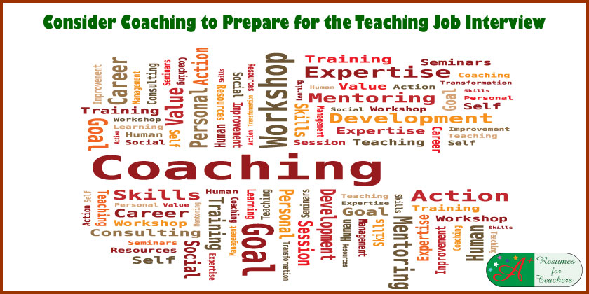 Consider Coaching to Prepare for the Teaching Job Interview