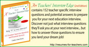 teacher job interview questions and answers