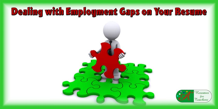 dealing with employment gaps on your resume