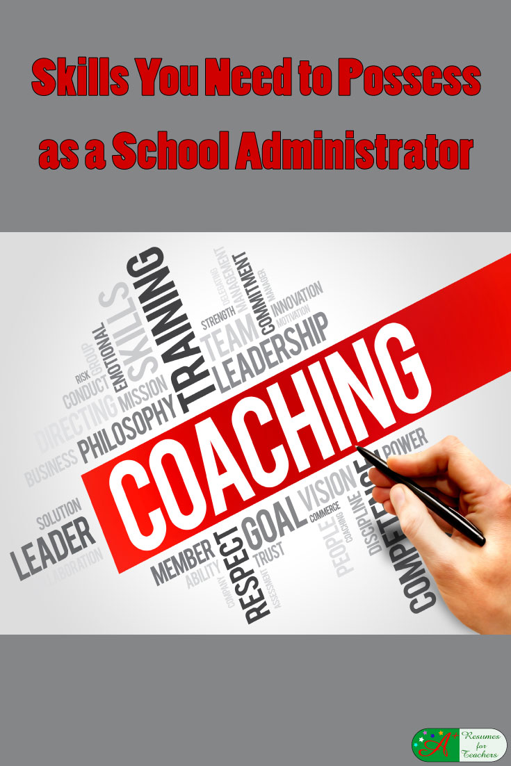 skills you need to possess as an administrator