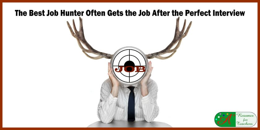 The Best Job Hunter Often Gets the Job After the Perfect Interview