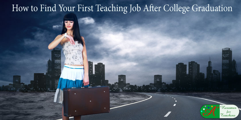 how to find a first job