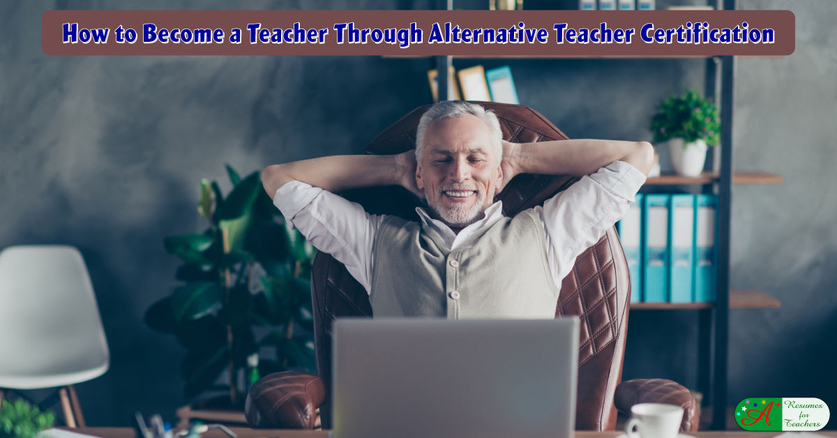 certification teacher alternative