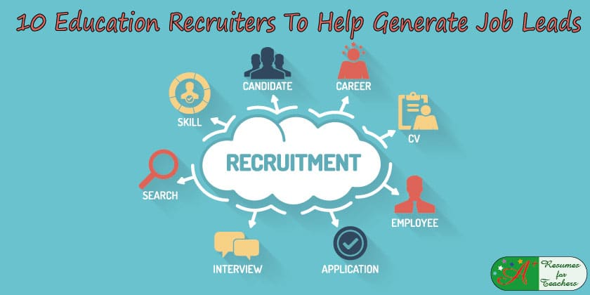 10 Education Recruiters To Help Generate Job Leads