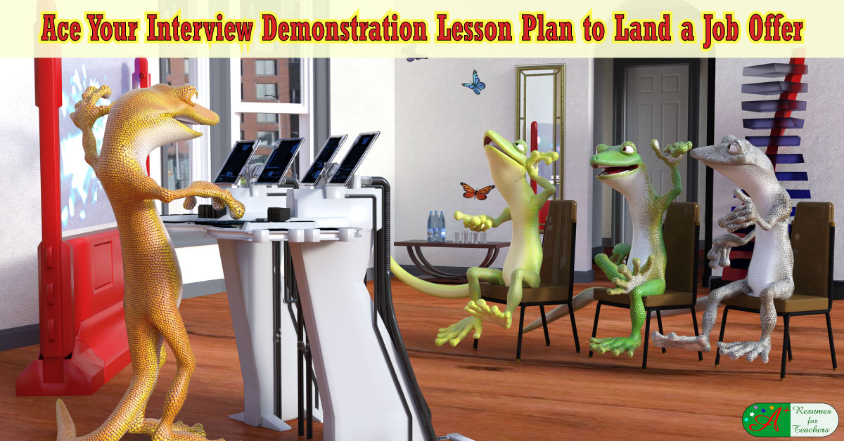 extensive tips to create a teacher demonstration lesson plan