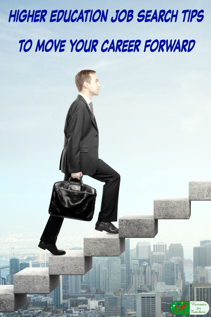 higher education job search tips to move your career forward