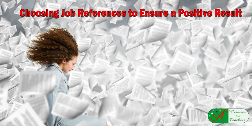 Choosing Job References to Ensure a Positive Result