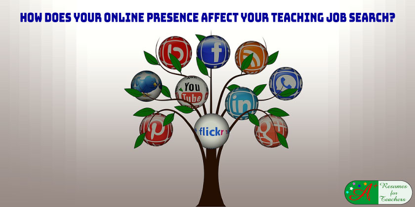 How does your online presence affect your job search?