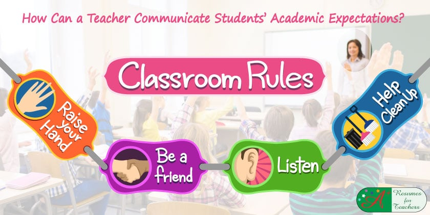 How Can a Teacher Communicate Students' Academic Expectations