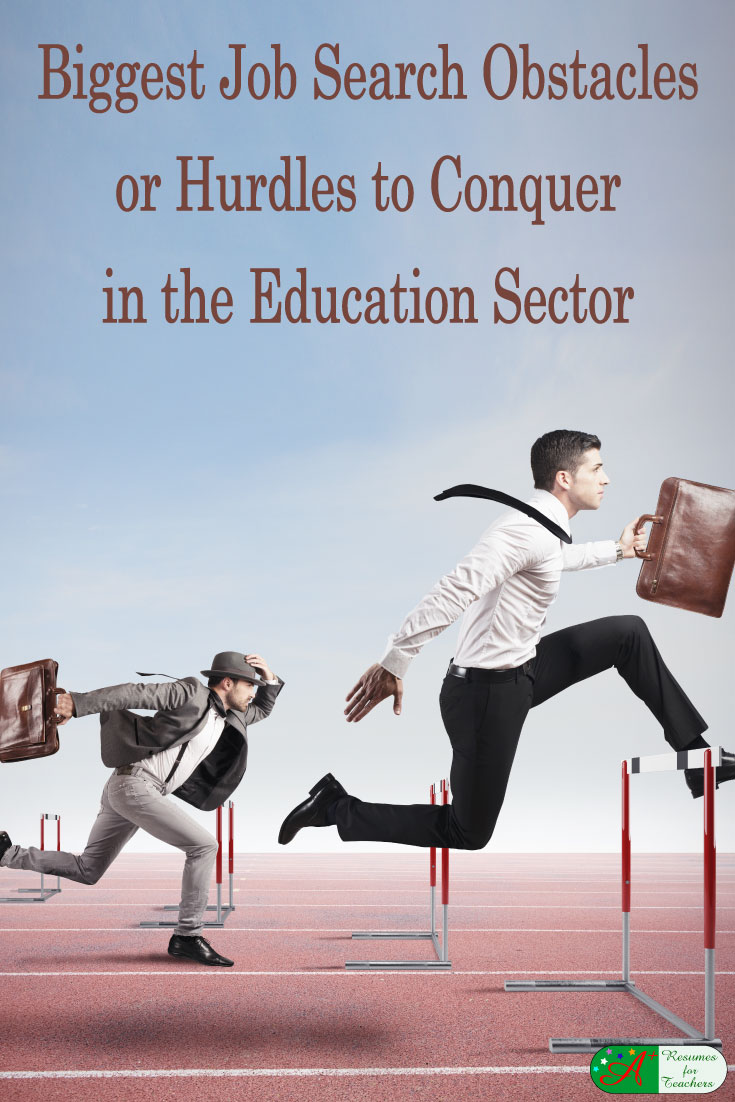 biggest job search obstacles or hurdles to conquer in the