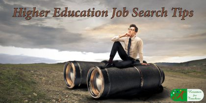 Higher Education Job Search Tips