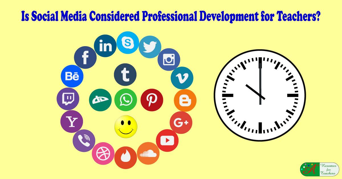 Is Social Media Considered Teacher Professional Development