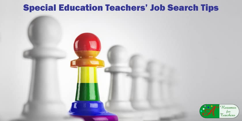 Special Education Teachers' Job Search Tips