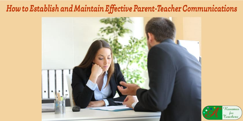 How to Establish and Maintain Effective Parent-Teacher Communications