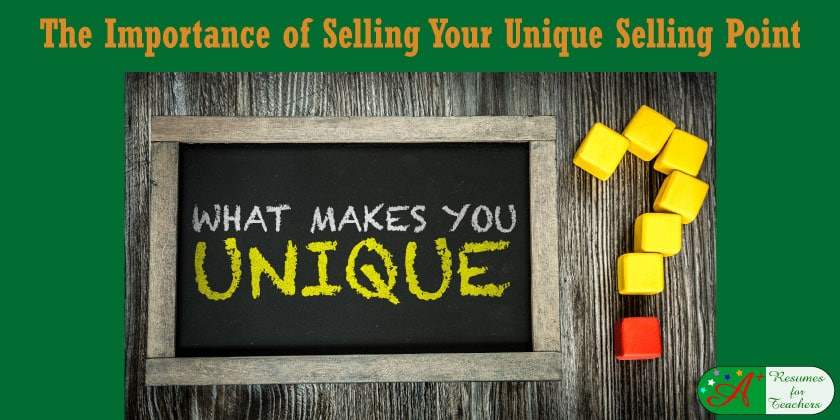 The Importance Of Selling Your Unique Selling Point