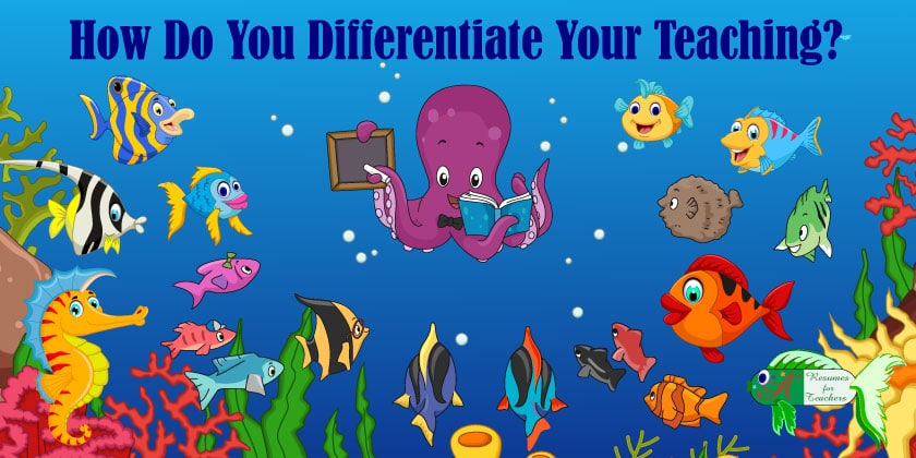 How Do Your Differentiate Your Teaching?