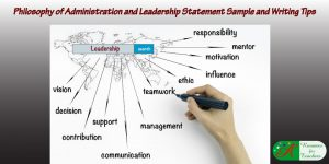 philosophy of administration and leadership statement sample and writing tips