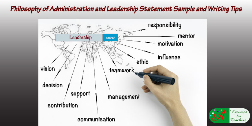 writing a philosophy of administration and leadership