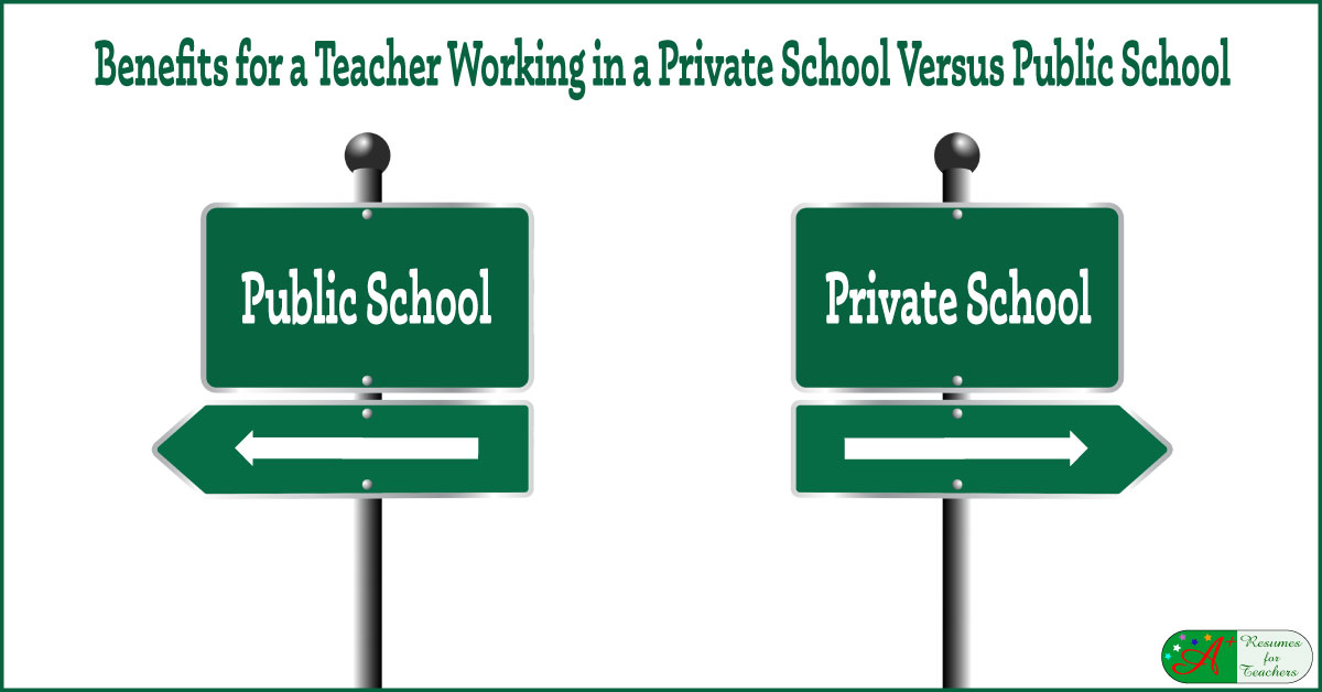 Benefits For A Teacher Working In A Private School