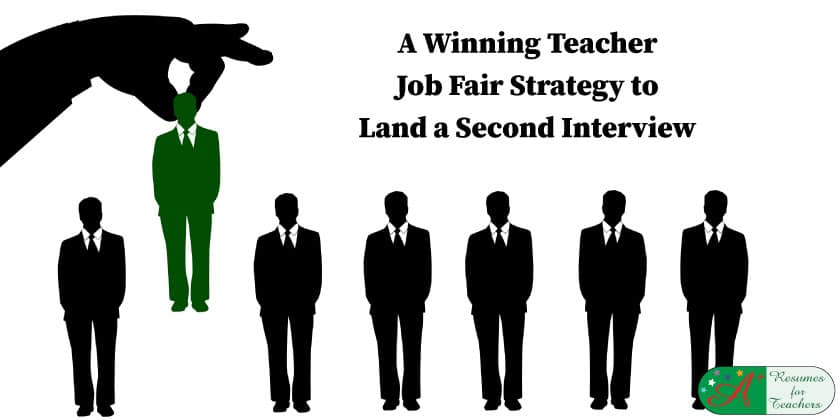 A Winning Teacher Job Fair Strategy to Land a Second Interview