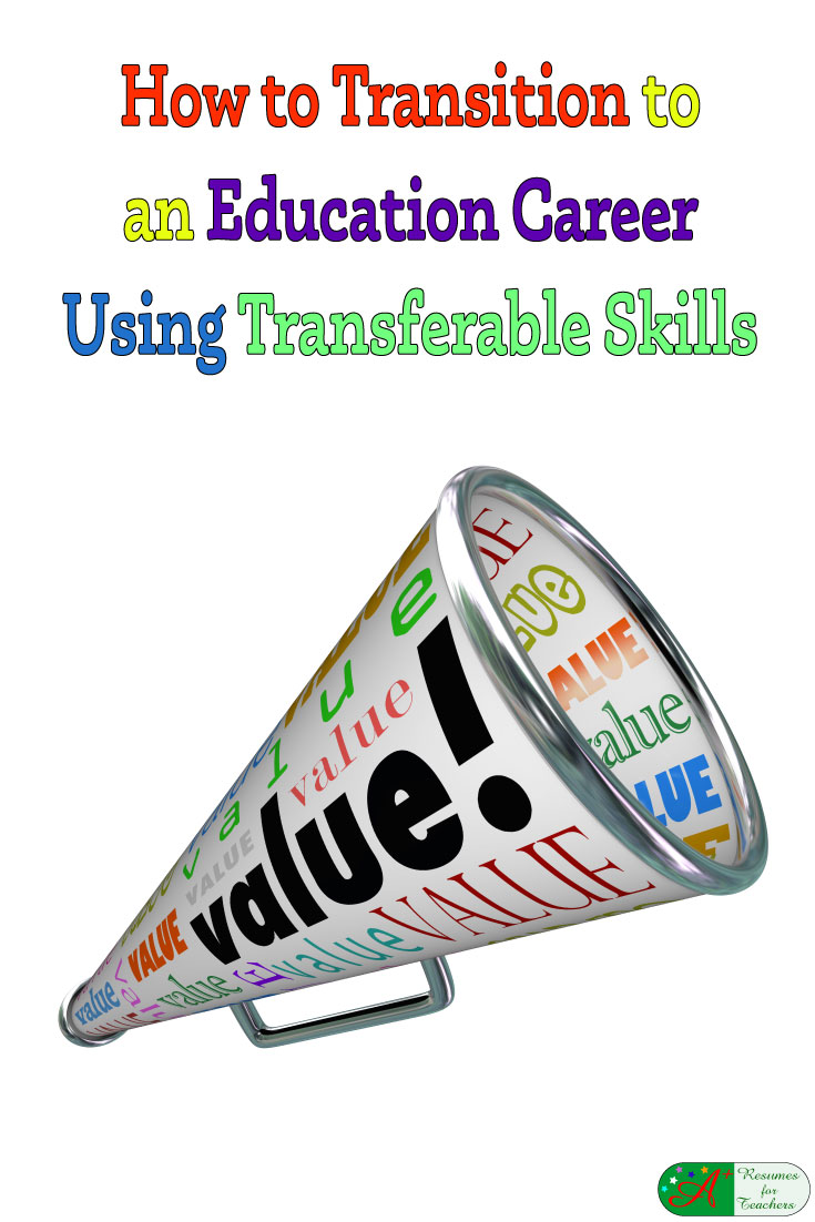 how to transition to an education career using