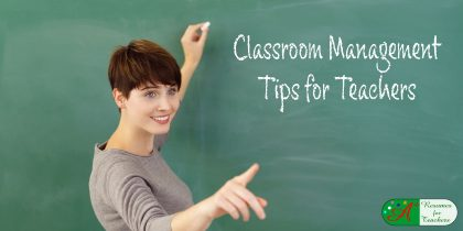 Classroom Management Tips for Teachers