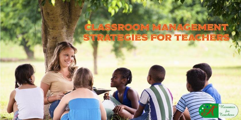 classroom management strategies for teachers
