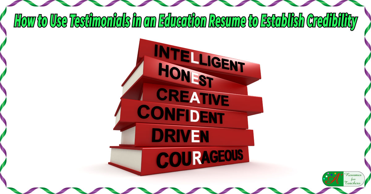 establish-resume-credibility-f Educational Resume Or Curriculum Vitae on standard format, resume or, formato de, sample personal, template word document, en francais, formato de un,