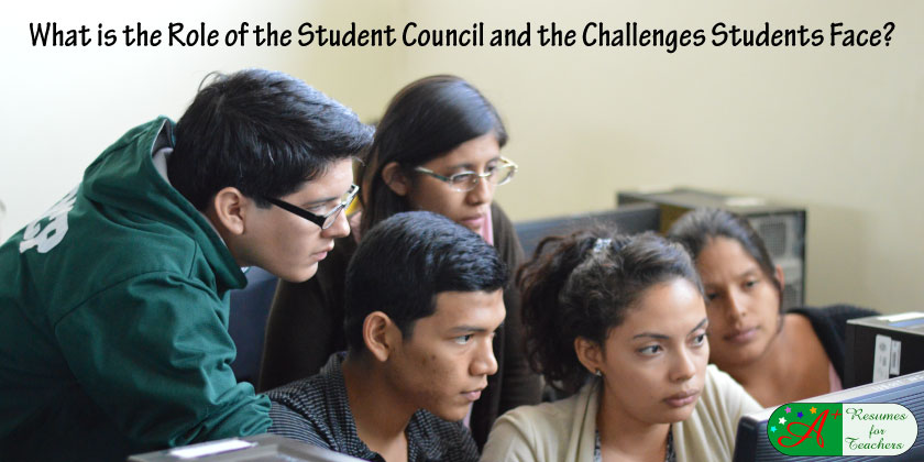 What is the Role of the Student Council and Challenges Students Face?