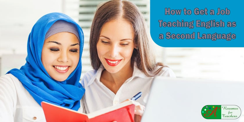 How to Get a Job Teaching English as a Second Language