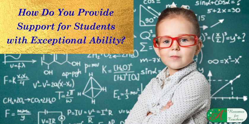How Do You Provide Support For Students With Exceptional