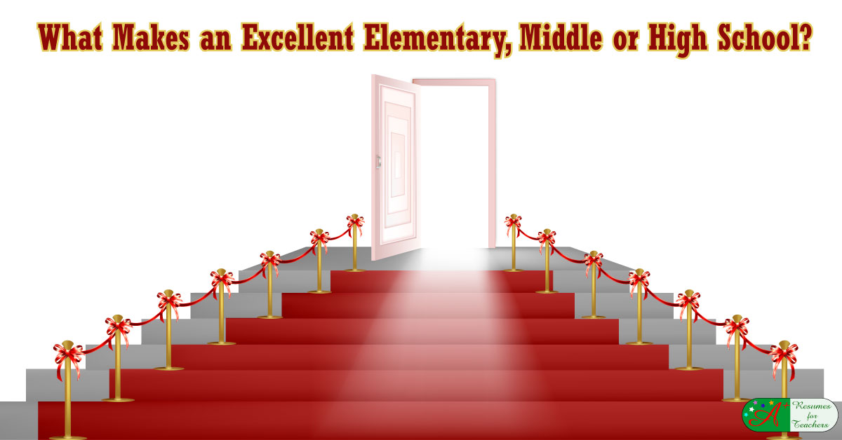 what makes a good elementary  middle  or high school