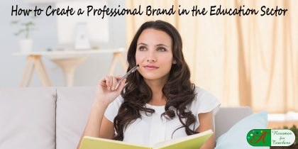 how to create a professional brand in the education sector