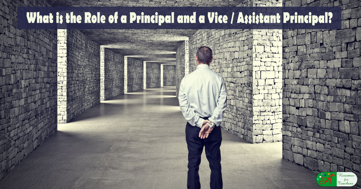 role of assistant principal essay A principal role in student discipline is much like that of a judge and ask the assistant principal (2018, january 26) the role of the principal in schools.