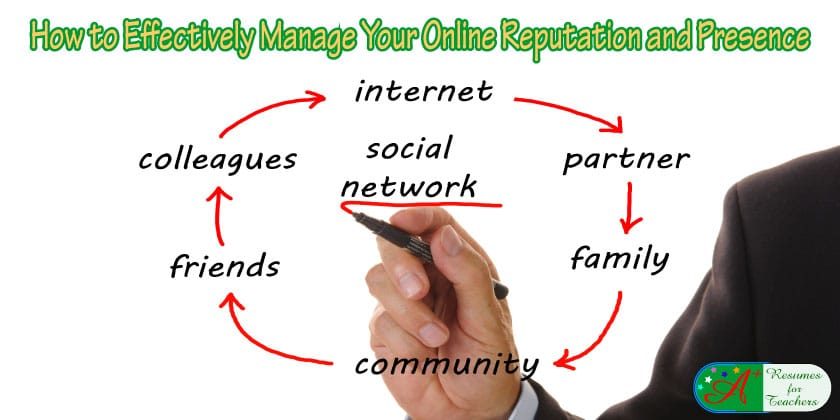 how to effectively manage your online reputation and presence