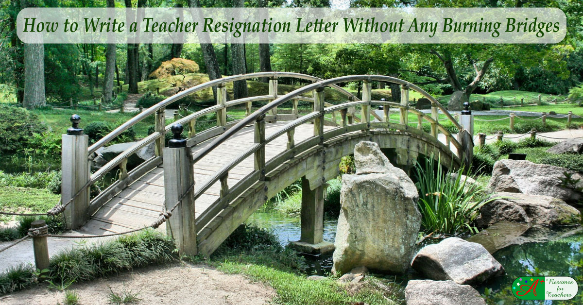 How to Write a Teacher Resignation