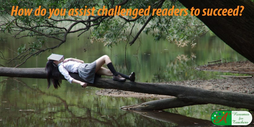 how do you assist challenged readers to succeed
