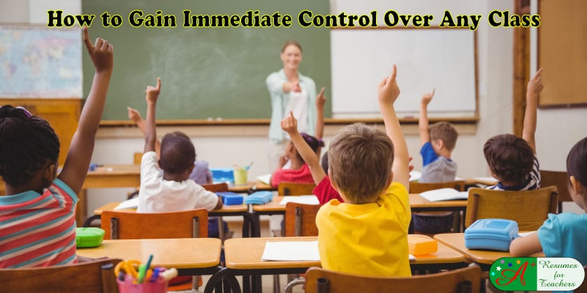 How to Gain Immediate Control Over Any Class