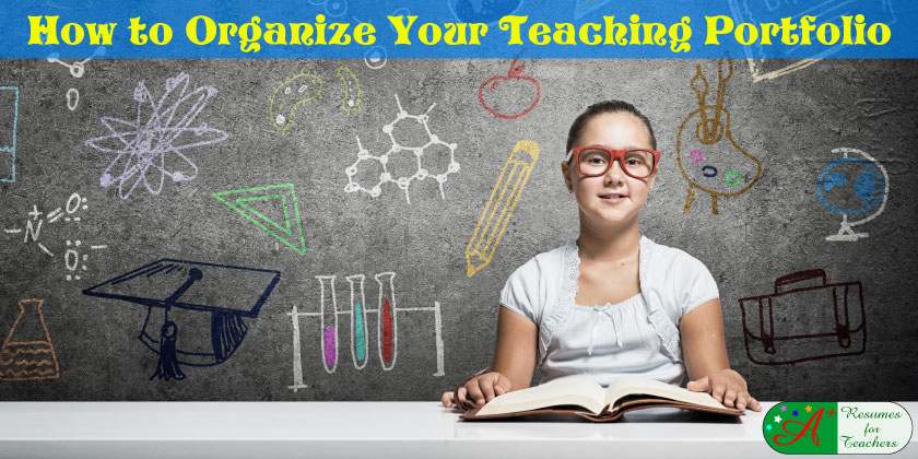 how to organize your teaching portfolio