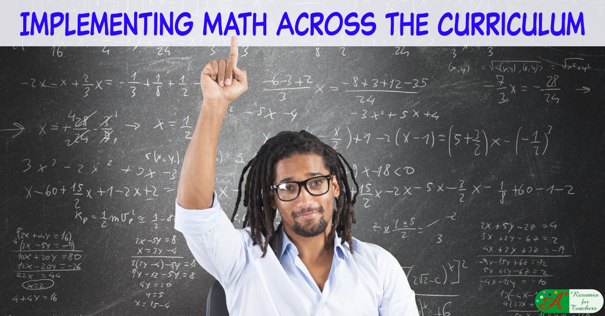 Implementing Math Across The Curriculum