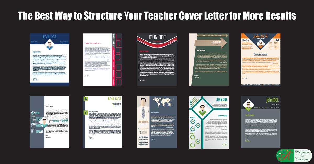 Structure Your Cover Letter F