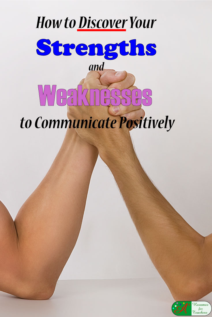 how to discover and communicate your strengths and weaknesses