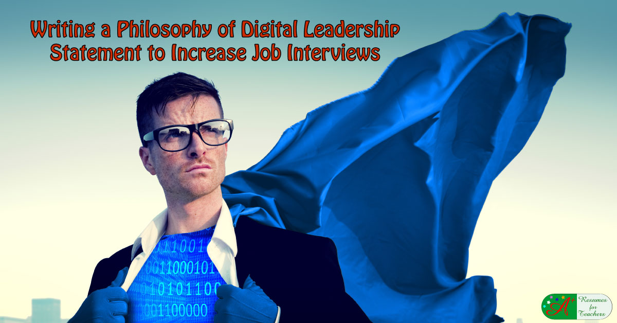 how to write a philosophy of digital leadership statement