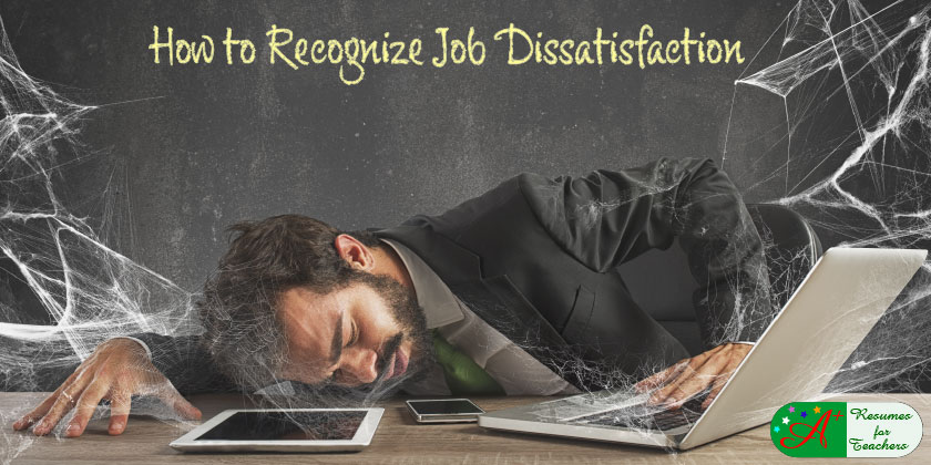 how to recognize job dissatisfaction