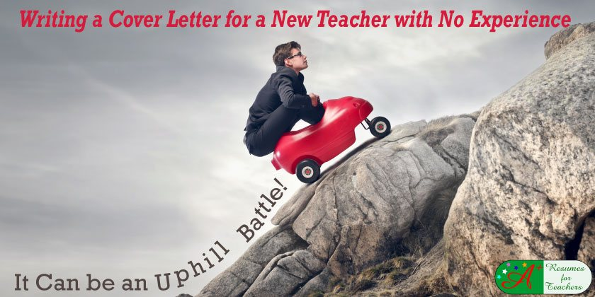 Writing A Cover Letter For New Teacher With No Experience
