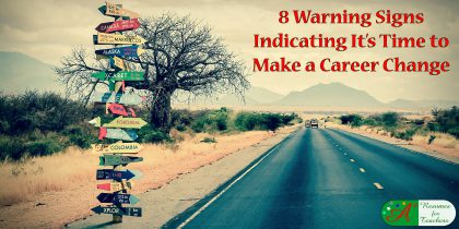 8 warning signs indicating it's time to make a career change