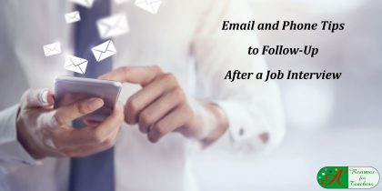 Email and Phone Tips to Follow-Up After a Job Interview