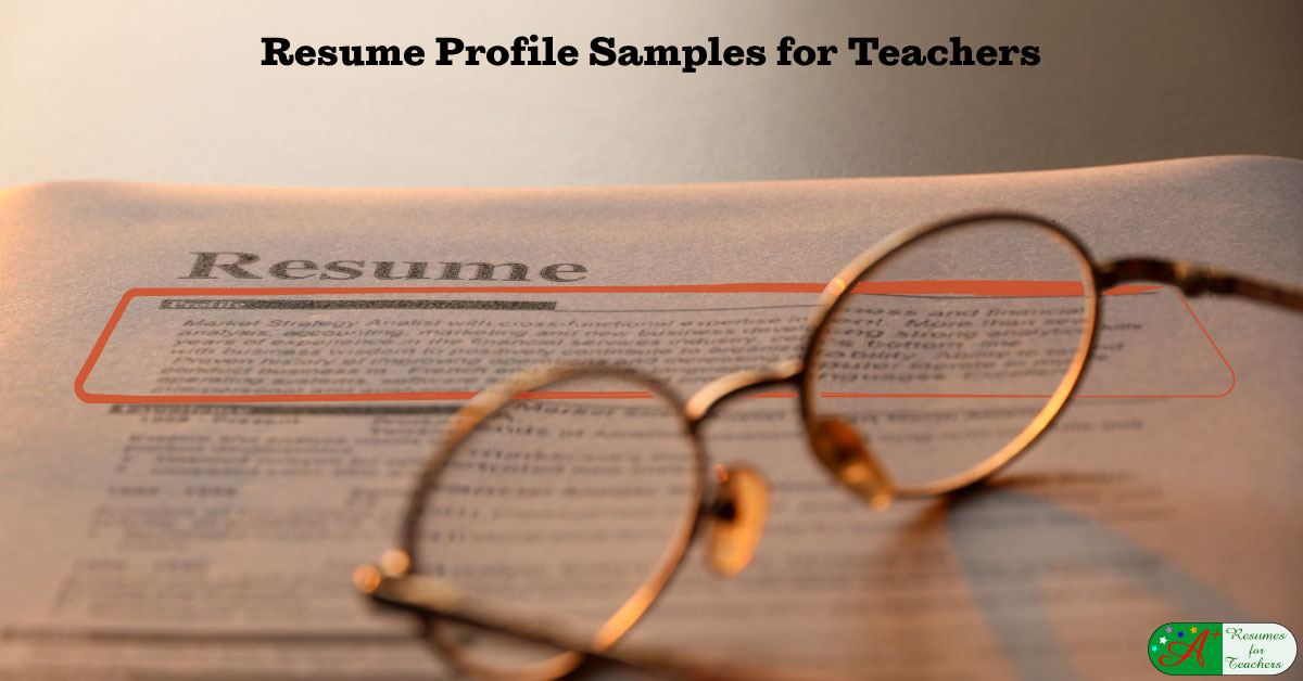 Teaching Resume Profile Samples Career Summary Of Qualifications Beautifully designed, easily editable templates to get your work done faster & smarter. teaching resume profile samples