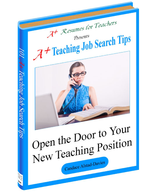 A+ Teaching Job Search Tips ebook