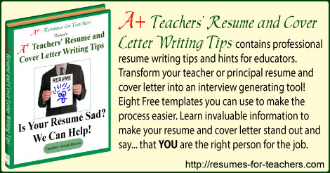 101 teacher resume and cover letter writing tips - Cover Letter Writing Tips